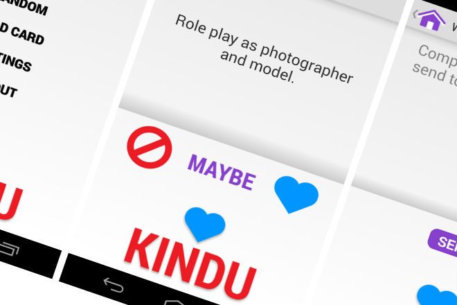 Kindu app san valentín