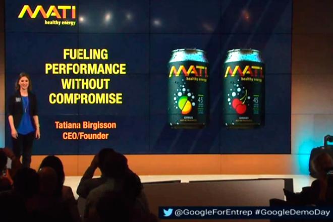 google-demo-day-mati-energy-drinks-tatiana-birgisson-oficial