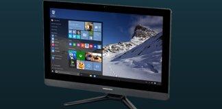 MEDION Akoya P5023 D: un prometedor ordenador todo en uno con pantalla táctil de 23''