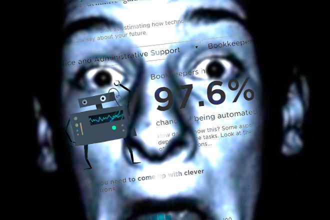 Pronto podremos saber la probabilidad con la que puede un robot quitarte tu empleo: se ha desarrollado una calculadora capaz de pronosticar el riesgo de que la máquina sustituya al humano en labores puntuales.