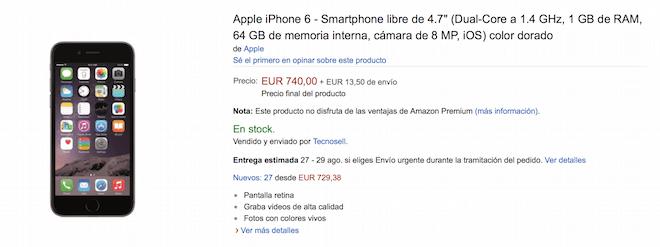 comprar un iphone 6 en Venezuela