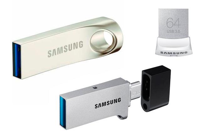 Samsung lanza unidades flash USB para dispositivos modernos
