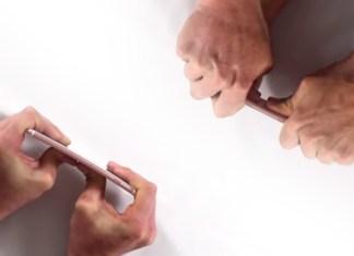 iPhone 6S no se dobla (pasa prueba de resistencia en vídeo)