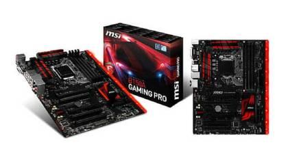 Conoce las nuevas placas base H170/B150 Skylake de MSI para gamers