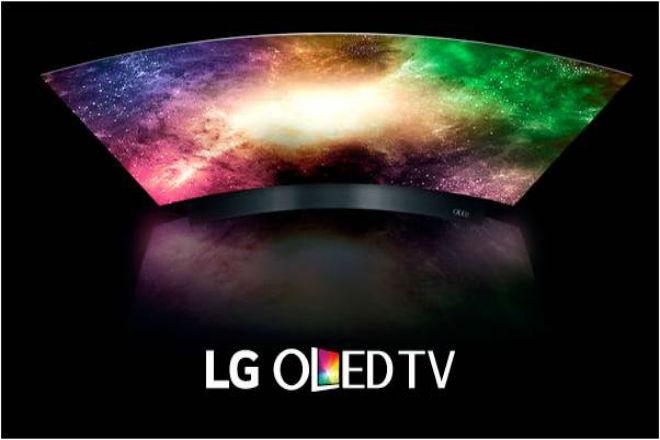 LG OLED TV.