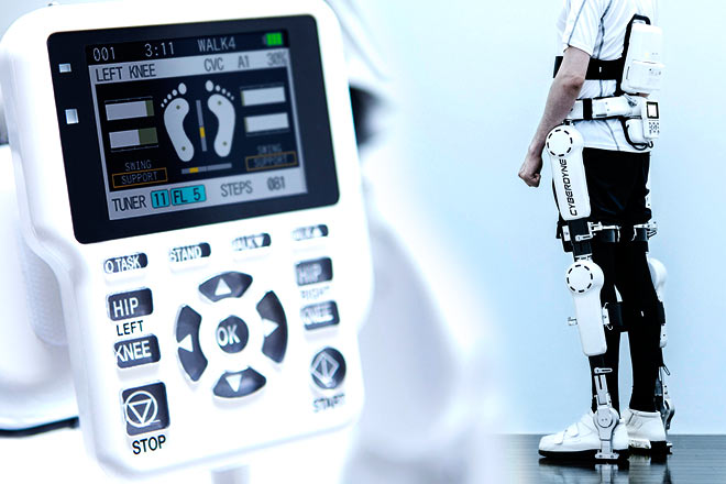 Así es HAL, el primer exoesqueleto aprobado en Japón para uso terapéutico