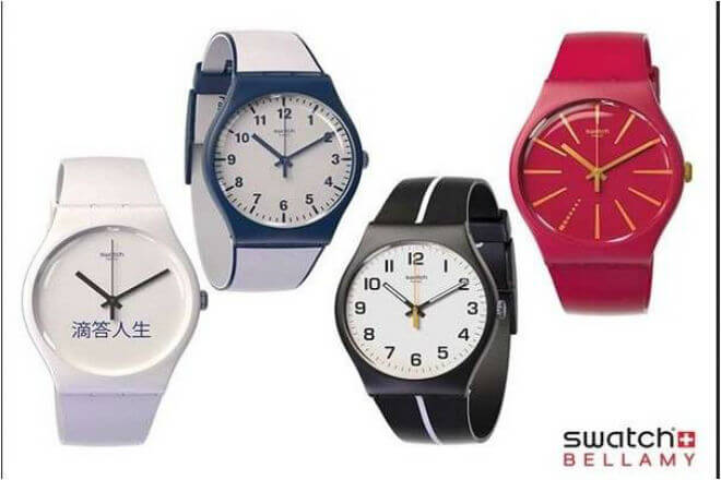 Swatch y Visa anuncian reloj analógico con NFC (Swatch Bellamy)