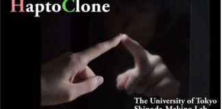 Investigadores japoneses han creado hologramas se puede tocar, mover y empujar