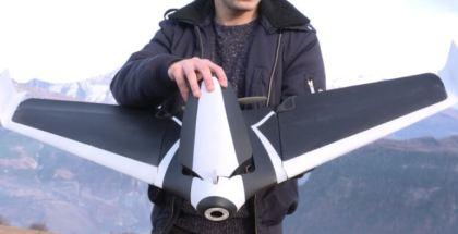 """#CES2016: PARROT presenta a """"DISCO"""" el primer dron con forma de ala"""