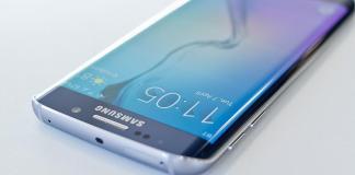 Pantalla curva Samsung