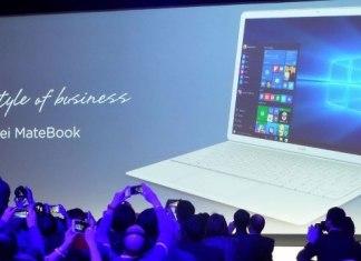 La tablet híbrida Huawei MateBook
