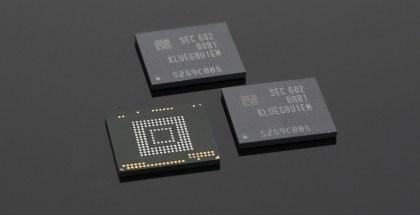 Samsung UFS chip 256 GB