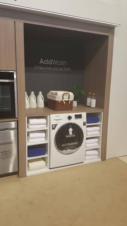 Lavadora Samsung Ecobubble, hogar inteligente