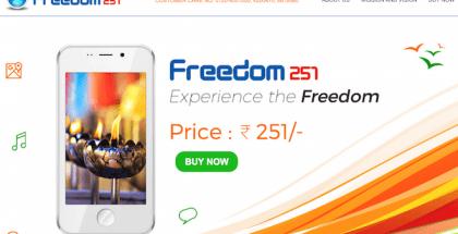 El móvil más barato del mundo es Android y se llama Freedom 251.
