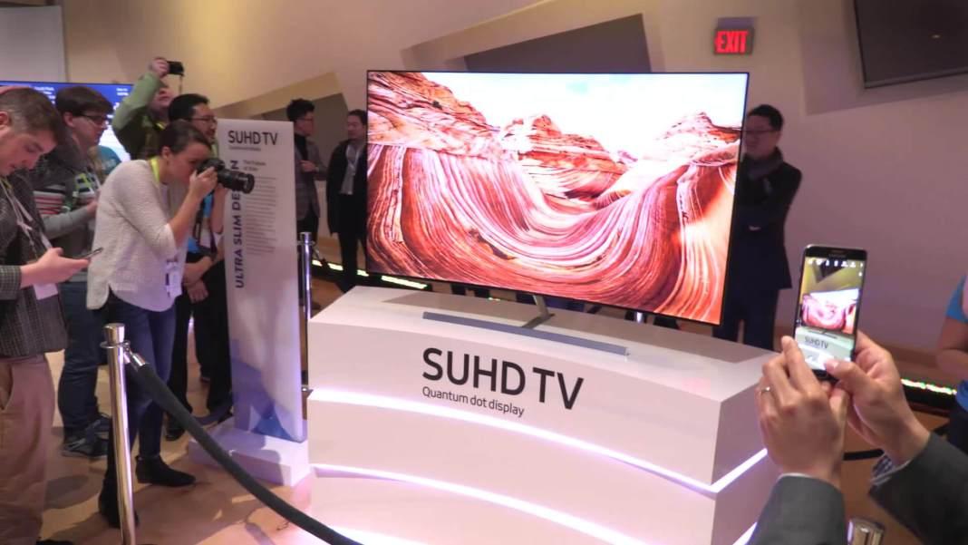 Televisores Samsung SUHD