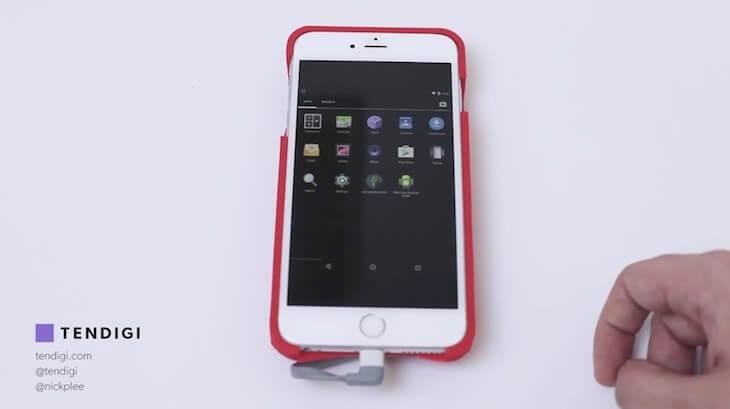Android en un iPhone