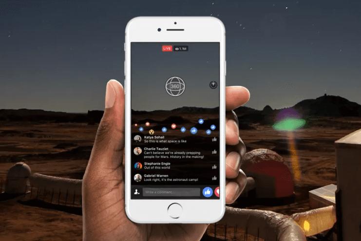 Video 360 en Facebook