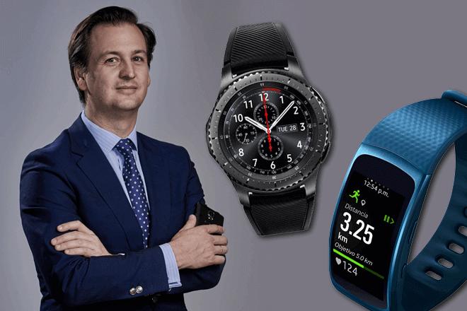 Luis de la Peña, Director de marketing de Móviles en Samsung España