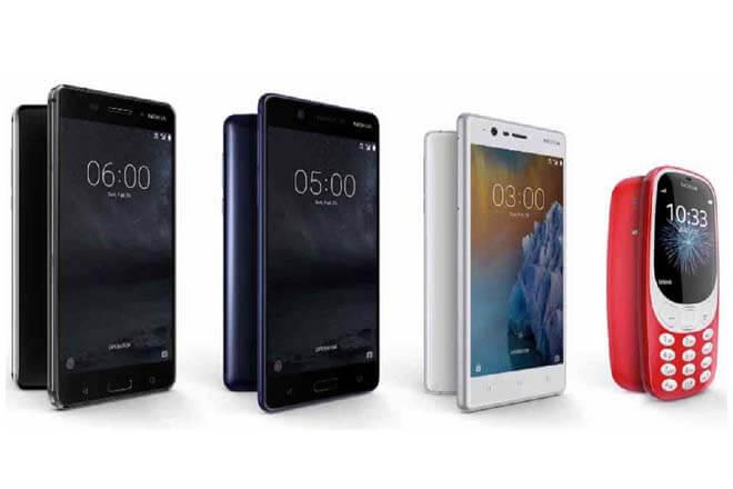 Nokia 6 y Nokia 3310