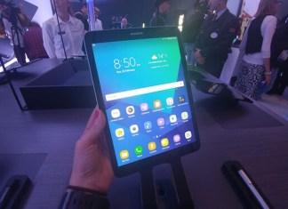 Samsung Galaxy Tab S3 pantalla giztab