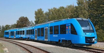 Este tren que no contamina se llama Coradia Ilint