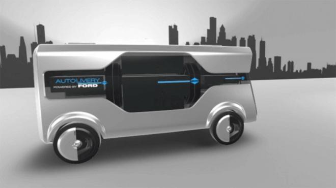 Ford Autolivery Concept: el futuro del transporte de mercancías