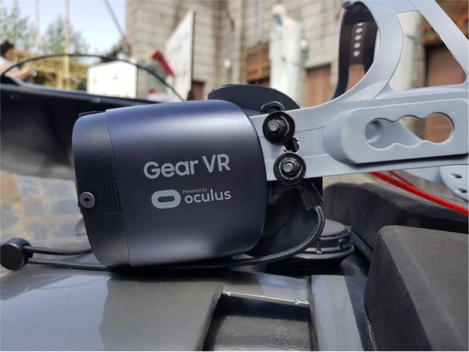 La montaña rusa de realidad virtual utilizará las Samsung Gear VR