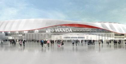 tecnología al estadio del Atlético de Madrid