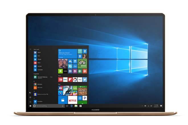 Nuevos portátiles Huawei MateBook