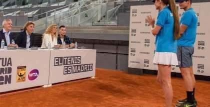 El Ojo de Halcón de Samsung, protagonista del Mutua Madrid Open