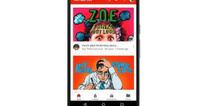 Cambios en la interfaz de la app de YouTube para Android