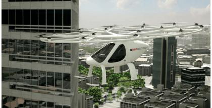 taxi volador surcará los cielos de Dubai a finales de año