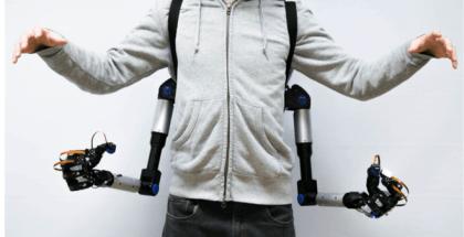 brazos robóticos creados por la Universidad de Japón