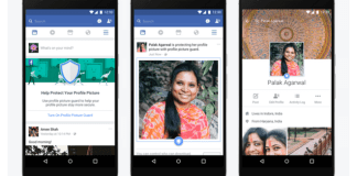 foto de perfil de Facebook tendrá un escudo protector