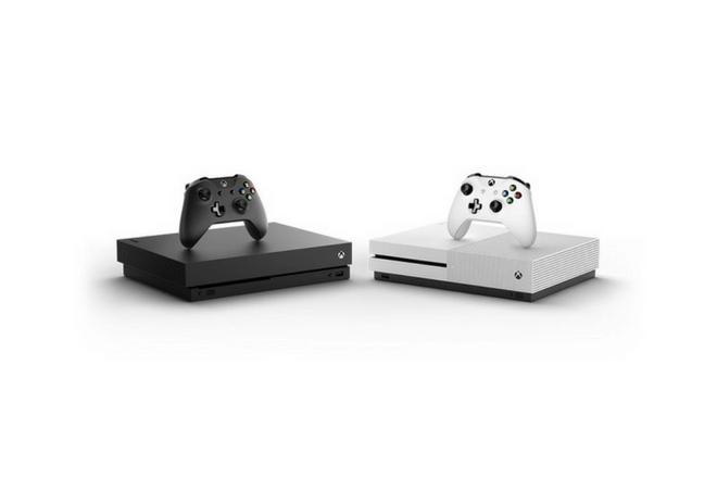 Xbox One X es una consola de dimensiones pequeñas