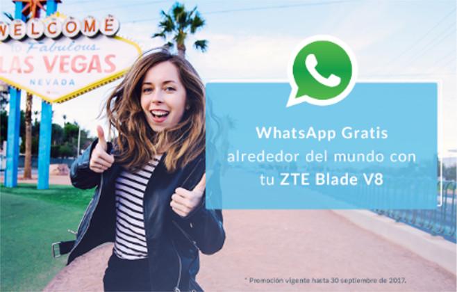 ZTE Blade V8 incluirá app de roaming mundial