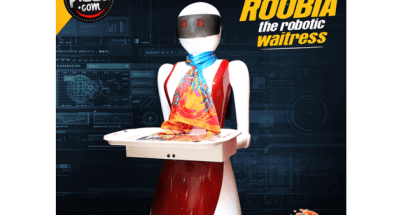 camareras robot atienden al público