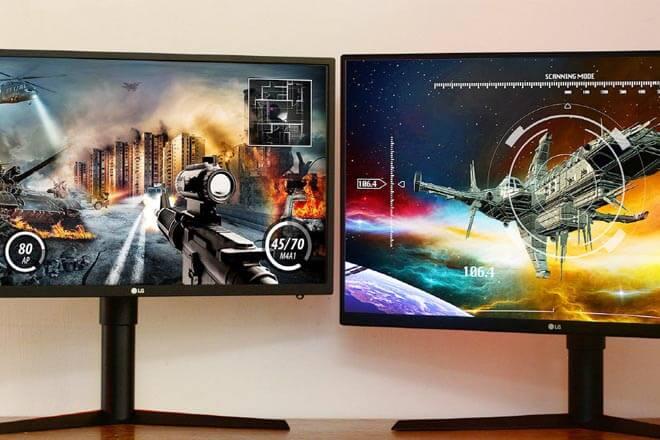 Monitores gaming LG