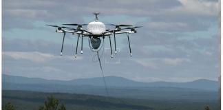imagen de dron