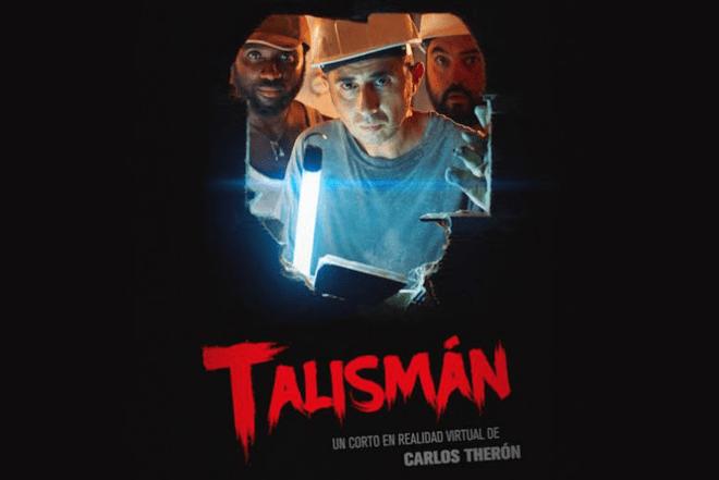Talismán, un corto de realidad virtual dirigido por Carlos Therón y producido por Samsung