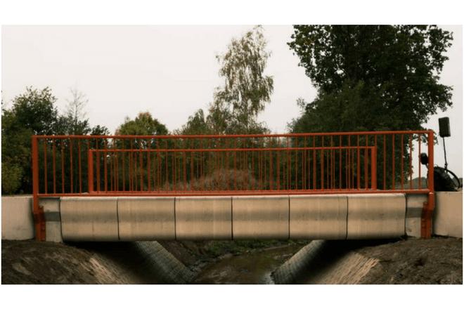 En los Países Bajos construyeron un puente en 3D para bicicletas