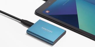 Samsung presenta SSD T5, su nueva unidad de almacenamiento externo compacta, rápida y segura