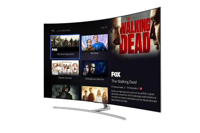La app de SKY llega a las Smart TV de Samsung
