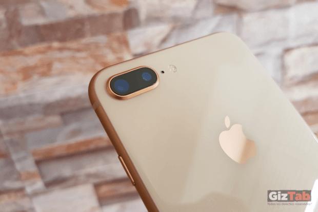 El iPhone 8 Plus cuenta con cámara dual de 12mpx con gran angular y teleobjetivo