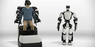 Este robot de Toyota imita tus movimientos