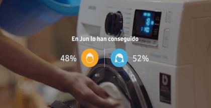 Samsung lanza una nueva campaña #YaNoHayExcusas para concienciar sobre la igualdad en el reparto de las tareas domésticas