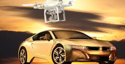 dron para recargar coches eléctricos