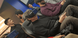 Espacios diseñados para probar y disfrutar de los dispositivos de realidad virtual Gear VR