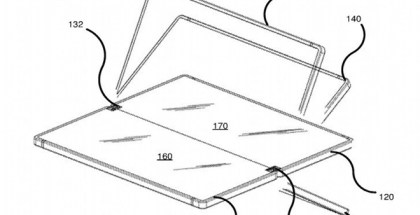 patente móvil plegable de Microsoft