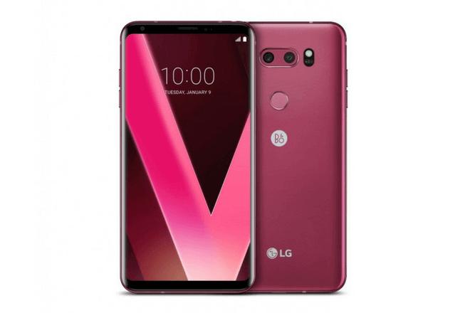 """LG V30 ahora tendrá un tono """"Rosa frambuesa"""""""